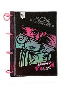 Caderno Argolado Monster High Colegial 10 Matérias Tilibra