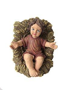 Menino Jesus Resina Para Presépio 13 cm Magizi
