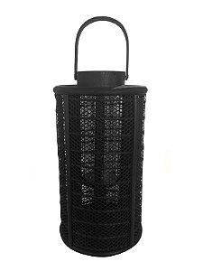 Castiçal Bambu Preto Comprido Xilya