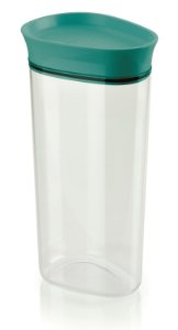 Pote Para Mantimentos Acrílico Vitra 2,2L Azul Ou Martiplast