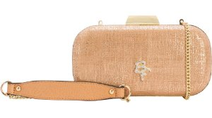 Bolsa Clutch Be Forever Rafitthy Sand Stone
