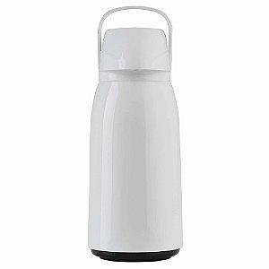 Garrafa Térmica Invicta Air Pot PP 1,8L Branca