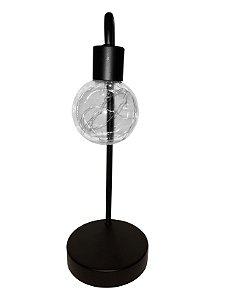 Lâmpada Decorativa de Mesa a Bateria Empório das Flores