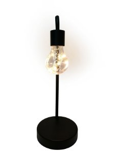Lâmpada Decorativa de Mesa de Bateria