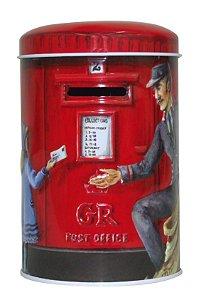 Cofrinho de Metal 14cm Post Office Zona Livre