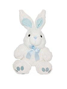 Coelho de Pelúcia Pequeno Branco Magic Toys