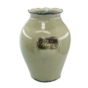 Vaso Decorativo de Cerâmica Home Vintage The Home