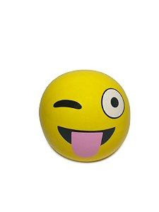 Cofrinho Emoji Piscando com a Língua de Fora