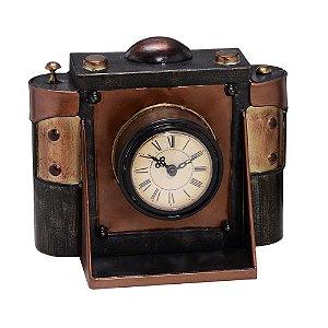 Relógio de Mesa Decorativo de Câmera Antiga Concepts Life
