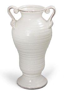 Vaso Decorativo Ânfora Branco 35cm Bencafil