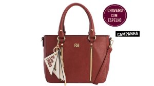 Bolsa Rafitthy Vermelho Escuro 22.82228-2