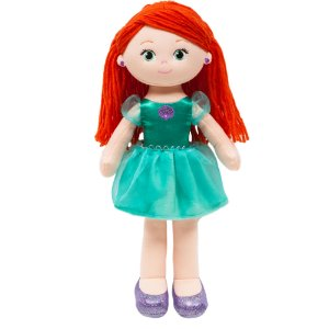 Boneca de Pano Ariel Buba Disney