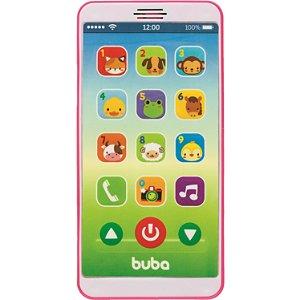 Celular Baby Phone Buba Rosa Musical