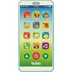 Celular Baby Phone Buba Azul Musical