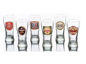 Conjunto de Copos de Cerveja 6 Peças Pagodinho 250ml