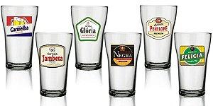 Conjunto de Copos de Cerveja 6 Peças 280ml