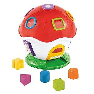 Brinquedo Didático Cogumelo Musical Tateti Little Mush