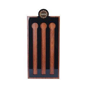Porta Cápsulas Nespresso de Madeira Woodart
