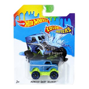Carrinho Hot Wheels Color Shifters Monster Dairy Delivery BHR57 Mattel