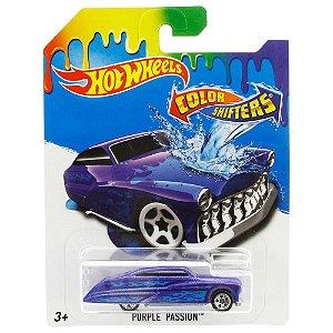 Carrinho Hot Wheels Color Shifters Purple Passion BHR52 Mattel