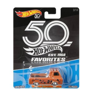 Carrinho Hot Wheels Favorites 50 Anos 60s Ford Econoline FLF40 Mattel