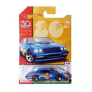Carrinho Hot Wheels 50 Anos Buick Grand National FRF45 Mattel