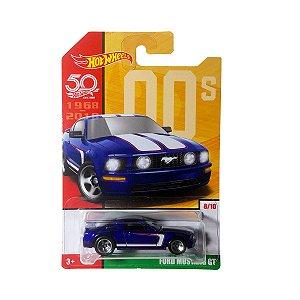 Carrinho Hot Wheels 50 Anos Ford Mustang GT FRF50 Mattel