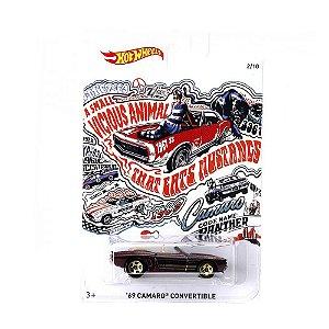 Carrinho Hot Wheels 69 Camaro Corvertible FKV72 Mattel