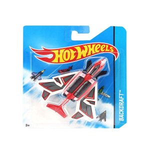 Avião Hot Wheels Backdraft FRJ56 Mattel