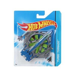 Avião Hot Wheels Turbo Tornado FRJ57 Mattel
