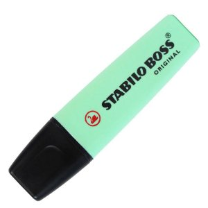 Marca Texto Stabilo Boss Pastel Verde 70/116