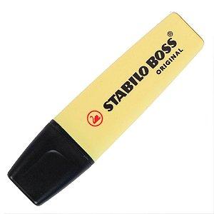 Marca Texto Stabilo Boss Pastel Amarelo 70/144