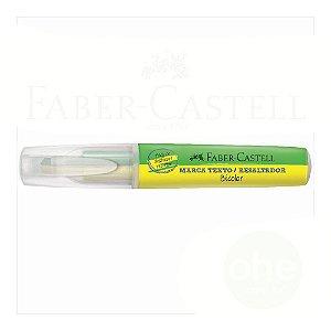 Marca Texto Faber-Castell Bicolor Amarelo e Verde - Daluel