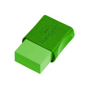 Borracha Faber-Castell Glitz Verde