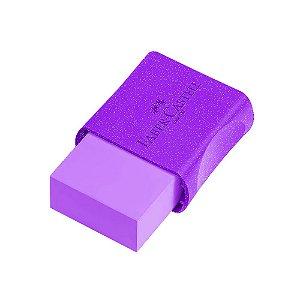 Borracha Faber-Castell Glitz Violeta
