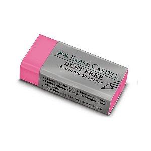 Borracha Faber Castel Dust Free Colors Rosa