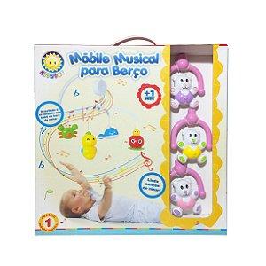 Móbile Musical para Berço Ursinhos Kitstar