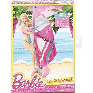Prancha Windsurf Barbie Mattel