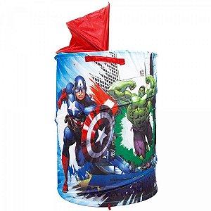 Porta Brinquedos Avengers Marvel Zippy Toys