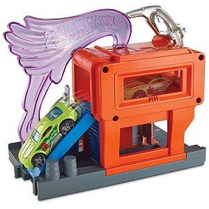Pista Hot Wheels Centro da Cidade Posto de Combustível Mattel