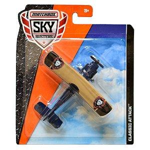 Avião Matchbox Sky Busters Classic Attack FKV43 Matte