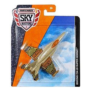 Avião Matchbox Sky Busters Boeing FA-18 Super Hornet FKV44 Mattel