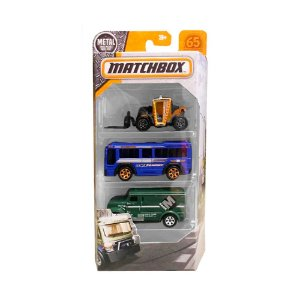 Kit de Carinhos Matchbox DYM96 Mattel