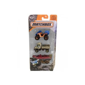 Kit de Carinhos Matchbox DYM95 Mattel