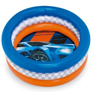 Piscina Hot Wheels Inflável 68 Litros Fun