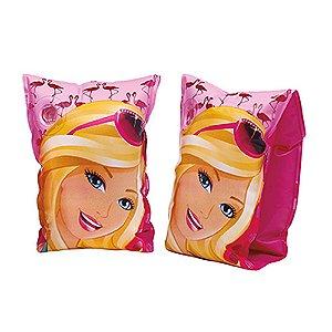 Boia de Braço Barbie Infantil Fun