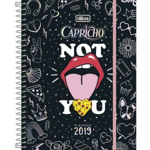 Planner Capricho 2019 Tilibra