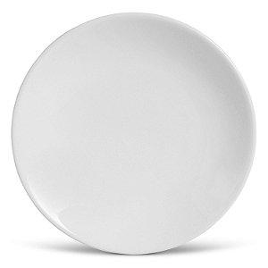Conjunto de Pratos Rasos Porto Brasil Coup Branco 27cm 6 Peças