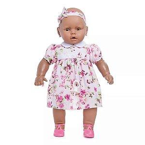 Boneca Meu Bebê Estrela Morena 60cm