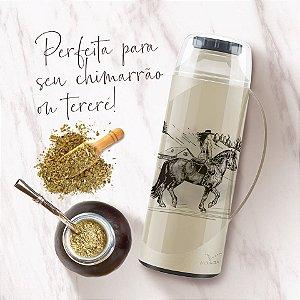Garrafa Térmica Invicta Firenze Pampeira 1,0L